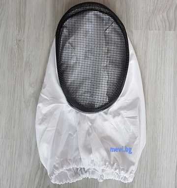 Protective mask, metal net
