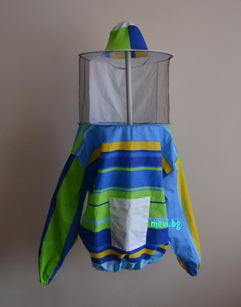 Bee blouse with helmet for child
