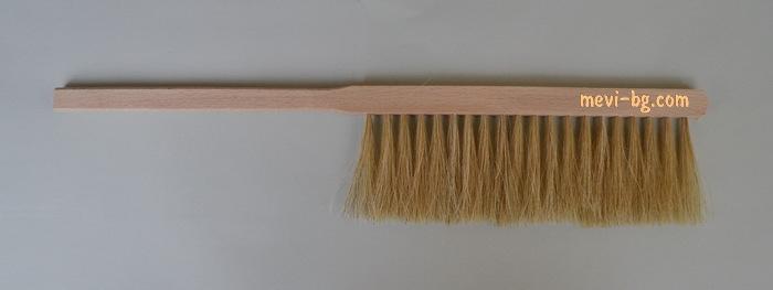 Bee brush white hair