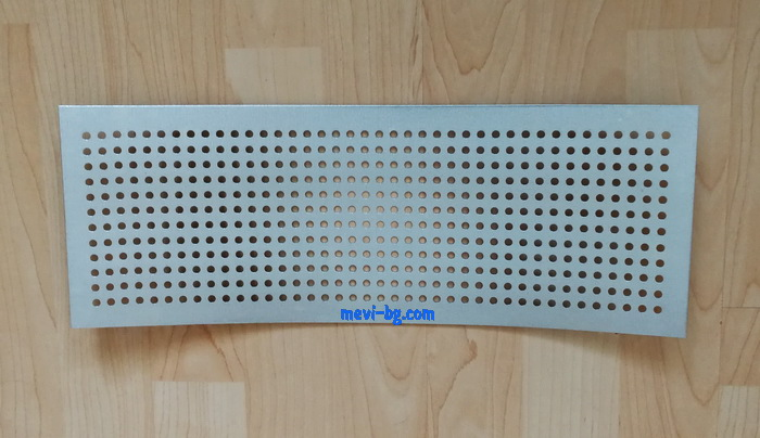 Colector polen metal 405/145 mm