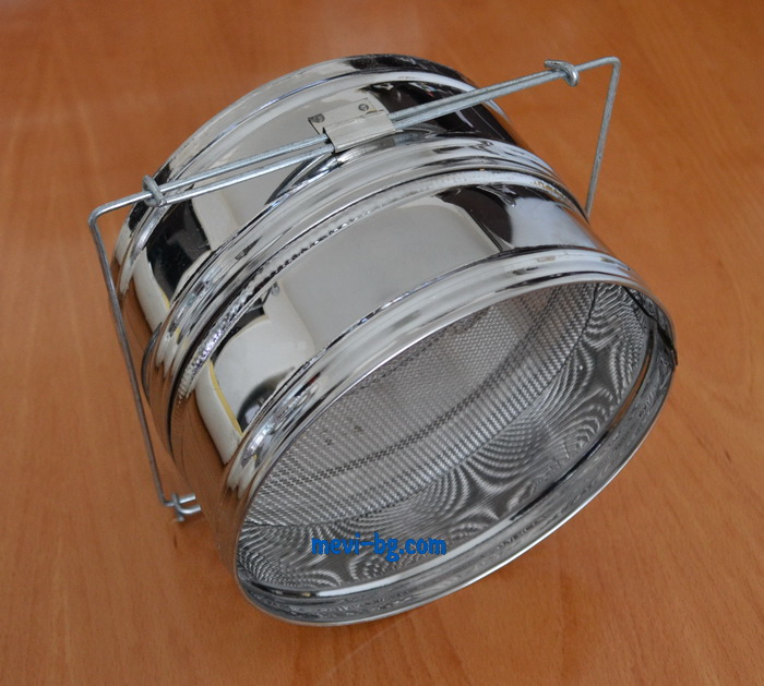 Double strainer stainless
