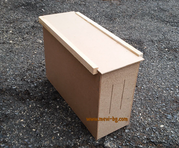 Transporting nucleus box wooden